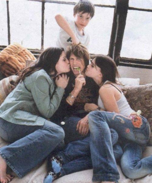 Steven, Mia, Chelsea, and Taj Tyler.