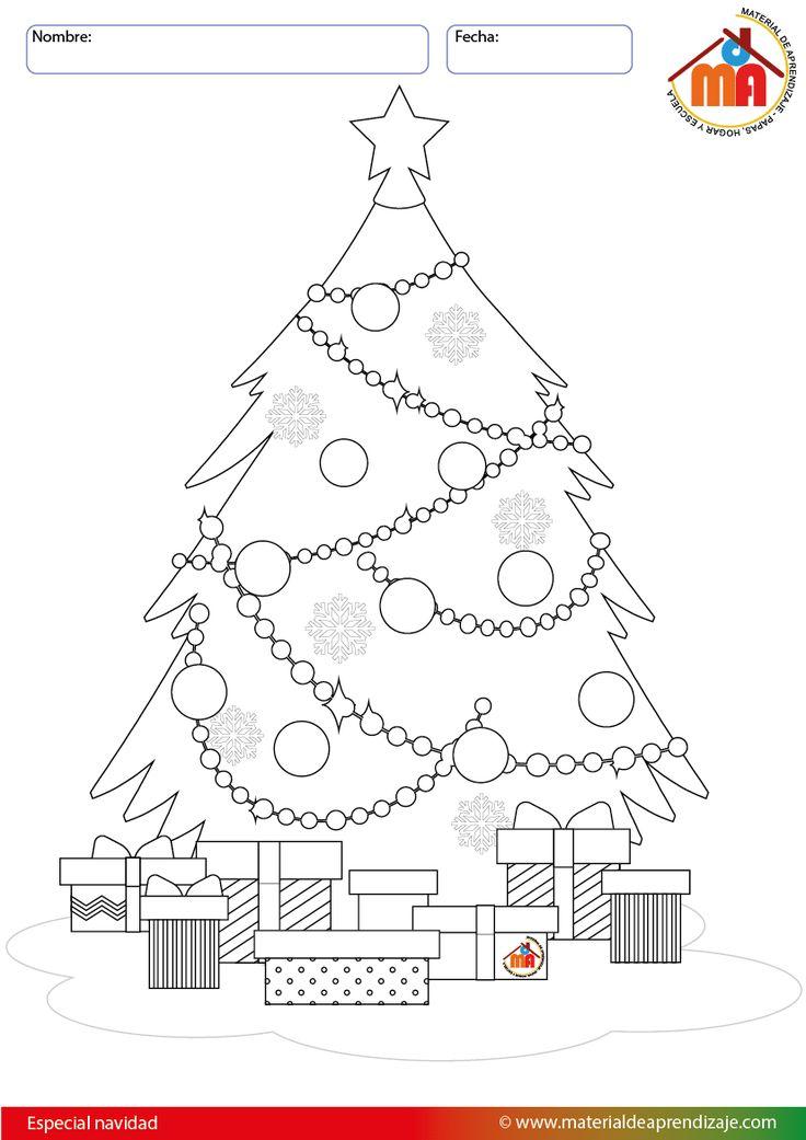 Fotos De Arboles De Navidad Para Dibujar. Sorpresas Debajo Del Rbol ...