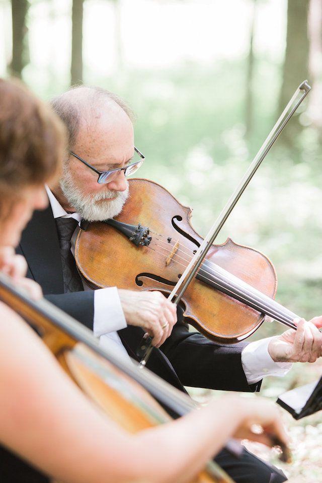 family farm; farm wedding; summer wedding; iowa wedding; studio bloom; andrea boller; monique lhuilier; outdoor ceremony; farm ceremony; forest ceremony; string quartet;