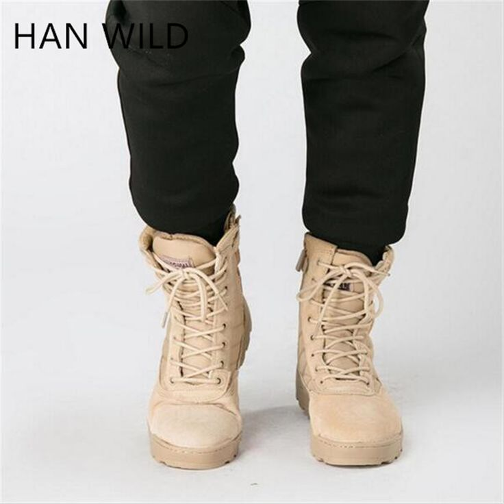 2017 Winter Army Boots Mens Military Desert Boot Shoes Men Autumn Breathable Snow Ankle Boots Special Forces Combat  Botas