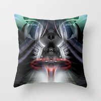 Throw Pillow featuring Darth Infinity Vader by Marlon Paul Bruin