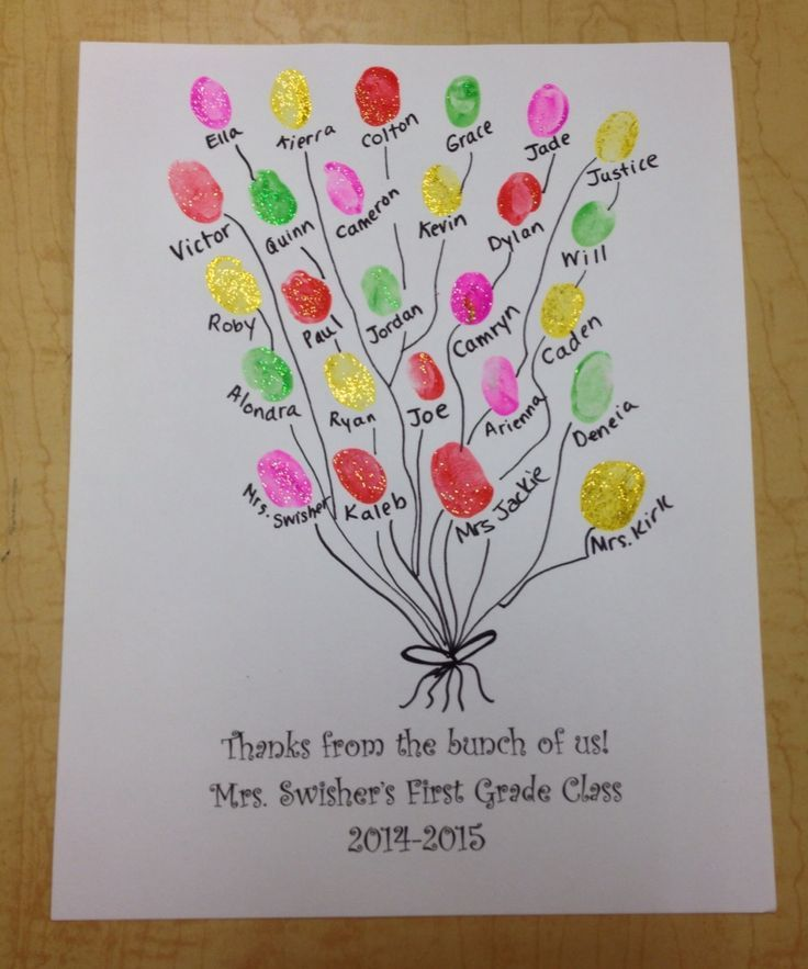 image result for donation thank you notes kindergarten