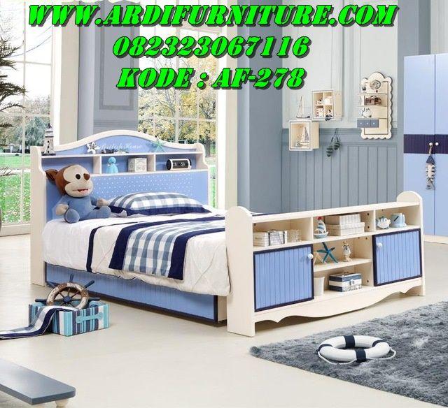 Tempat Tidur Anak Laki Laki