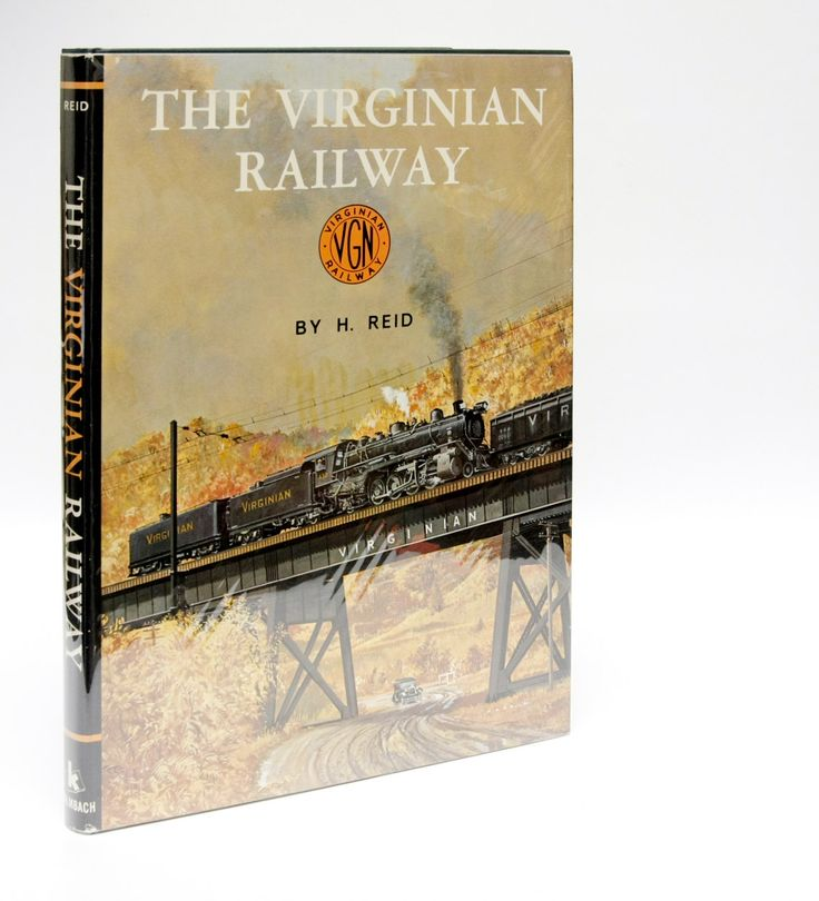 """Railway Book """"The Virginian Railway"""" Hardcover Train Book (1973) Railroad History Pictures Black and White Photos Train Travel locomotive by HudsonPulpAndRockets on Etsy"""