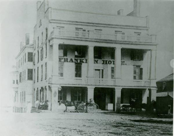 Franklin Hotel  Geneva NY  1825