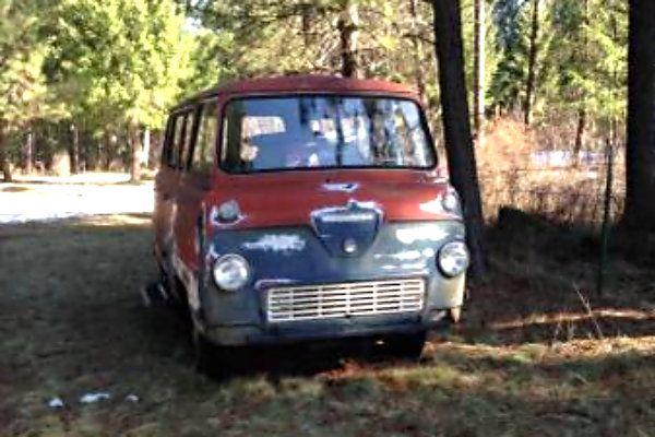 Vintage Thames Minivan In Idaho - http://barnfinds.com/vintage-ford-minivan-in-idaho/