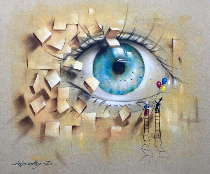 Malarz artysta Dariusz Ślusarski - slusarsky.com | Realizm magiczny, surrealizm, nadrealizm, malarstwo współczesne.