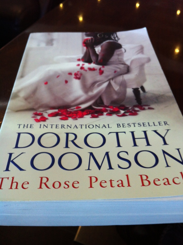 loved this book and Rose petals always remind me of weddings