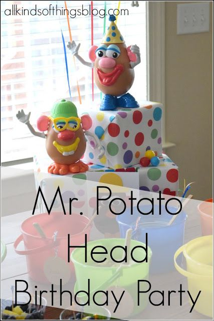 All Kinds of Things: Mr. Potato Head Birthday Party