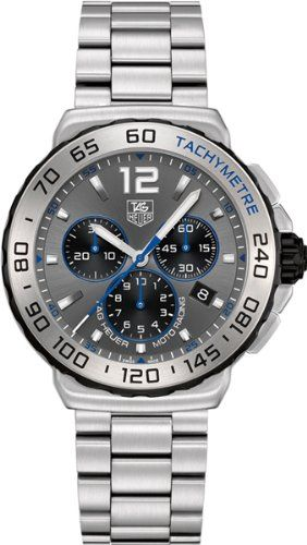 Tag Heuer Formula 1 Chronograph Grey Dial Stainless Steel Mens Watch CAU1119BA0858 $1,575.00 (17% OFF)