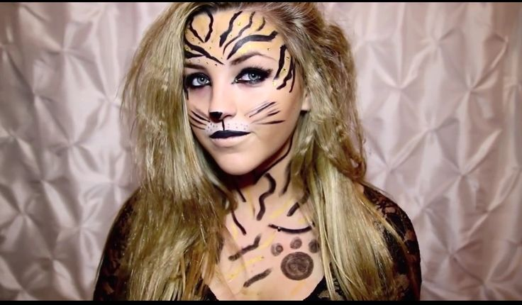 Tiger Makeup Tutorial (The You Generation) | This is Halloween ...