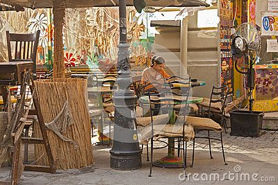 Outdoor Cafe - Download From Over 25 Million High Quality Stock Photos, Images, Vectors. Sign up for FREE today. Image: 43427273