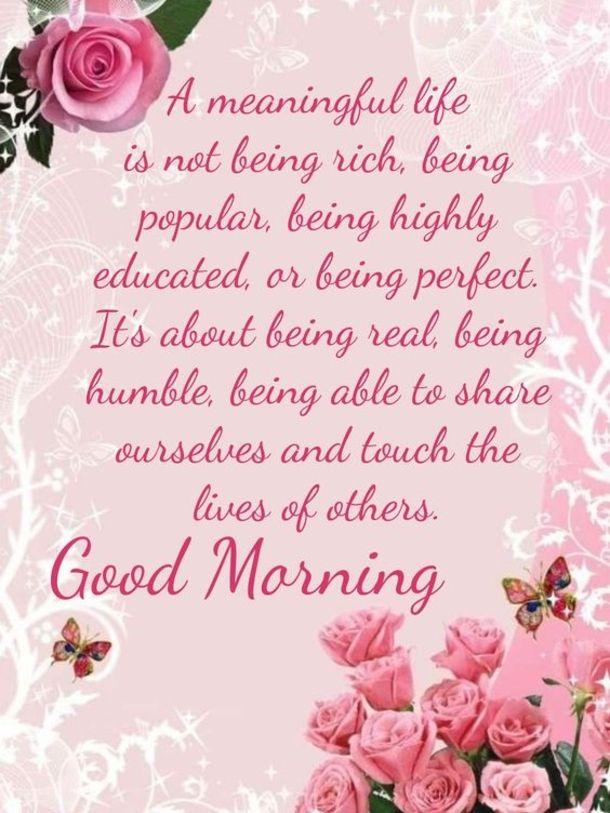 Beautiful Good Morning Inspiring Quotes
