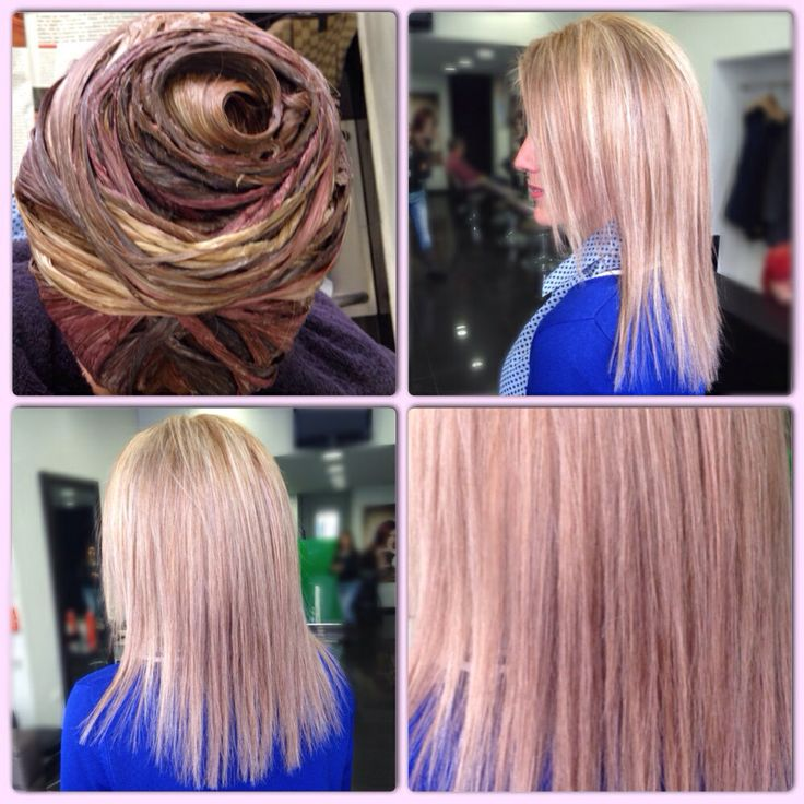 Blonde/Soft Pink Color ID
