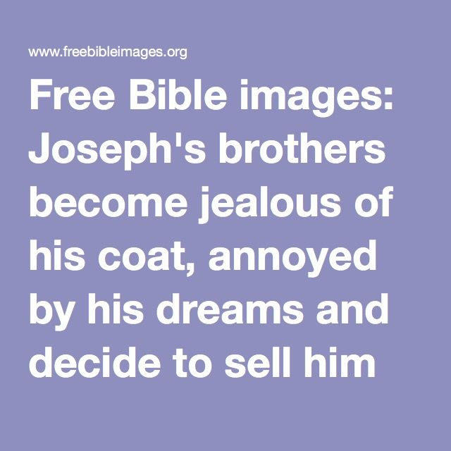 Free Bible Images Josephs Brothers Become Jealous Of His Coat