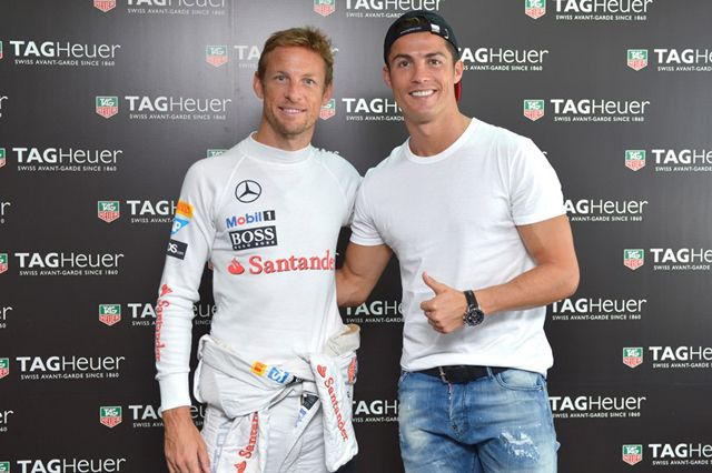 TAG Heuer - Don't Crack Under Pressure CR7 and Jenson Button
