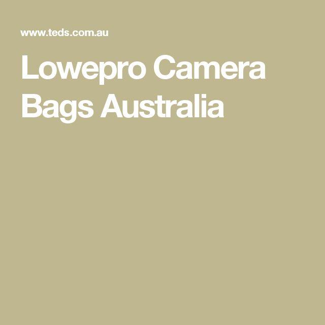 Lowepro Camera Bags Australia