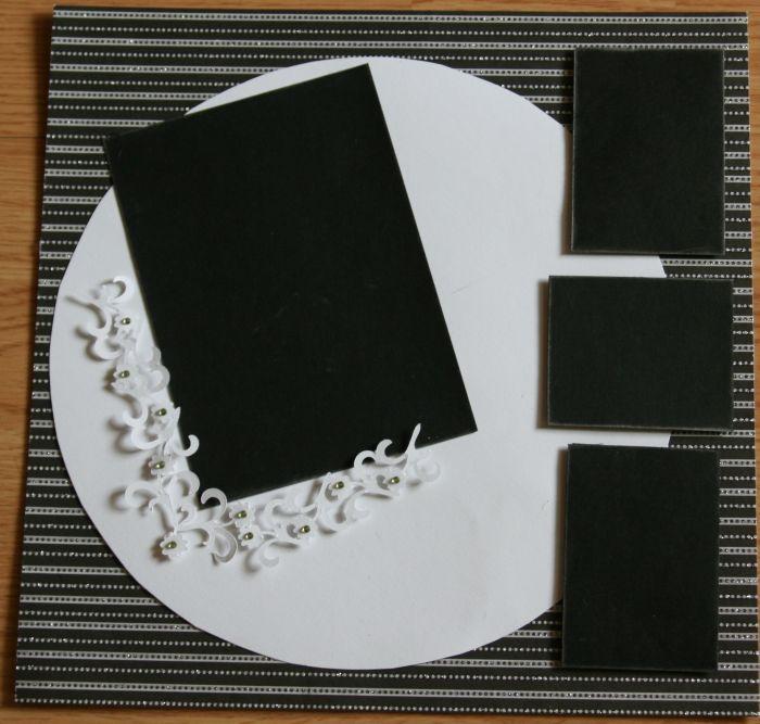 Wedding Scrapbook Page - Scrapjazz.com