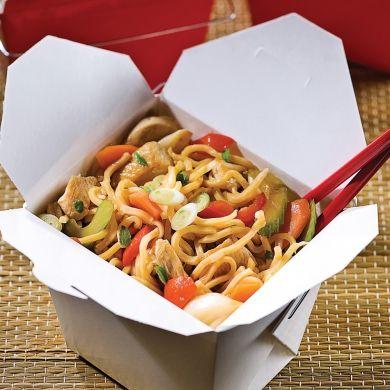 Chow mein au poulet et basilic - Recettes - Cuisine et nutrition - Pratico Pratique