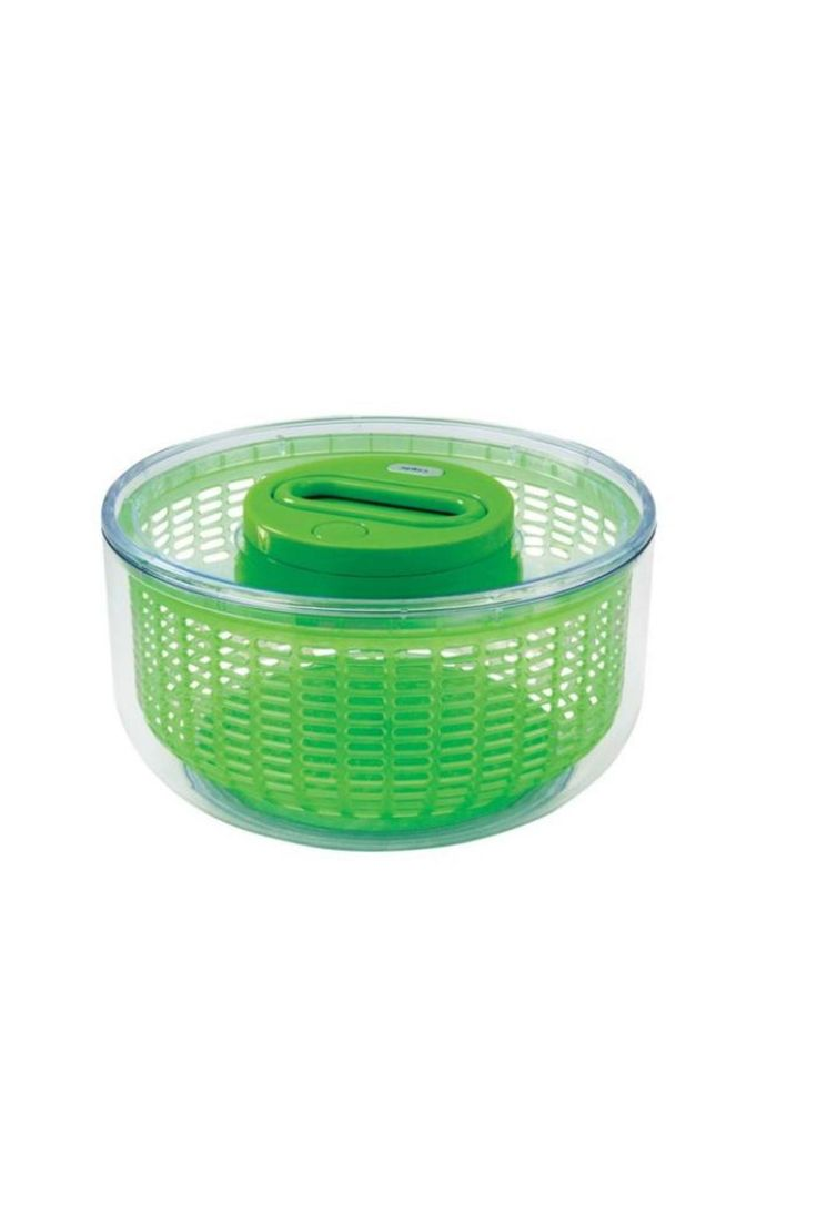 The award-winning Zyliss Easy Spin® Salad Spinner cleans and dries all types of greens, berries, and herbs with just one spin. The easy-pull retractable cord and proprietary glidewheel® motion, create a smooth spinning action while delivering speed and yielding quick, effortless results.    Zyliss Salad Spinner  by Bekah Kate's (Kitchen, Kids & Home). Home & Gifts - Home Decor - Dining - Kitchen Tools Wisconsin