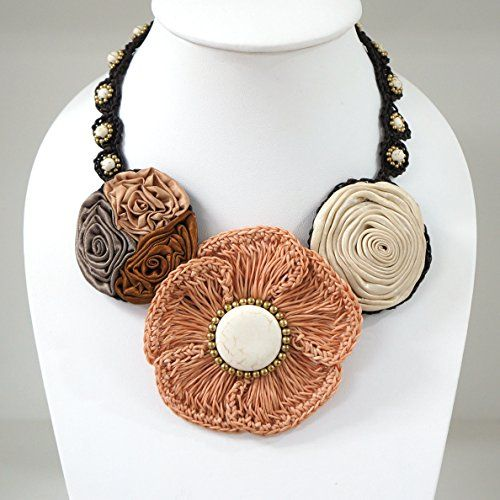 Crochet Flower Necklace Multi Colour Buffalo Head https://www.amazon.com/dp/B01N18W0O9/ref=cm_sw_r_pi_dp_x_FJVPyb9GD5G50