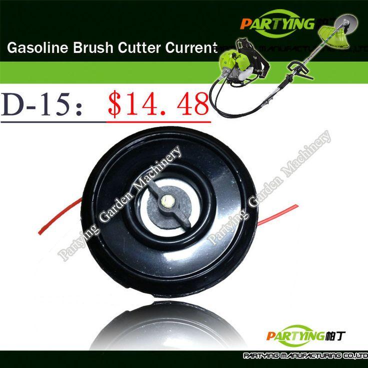Free Shipping buy 2 get 1 free petrol lawn mower trimmer 2-stroke brush cutter head grass cutting machine gasoline plastic  D-15