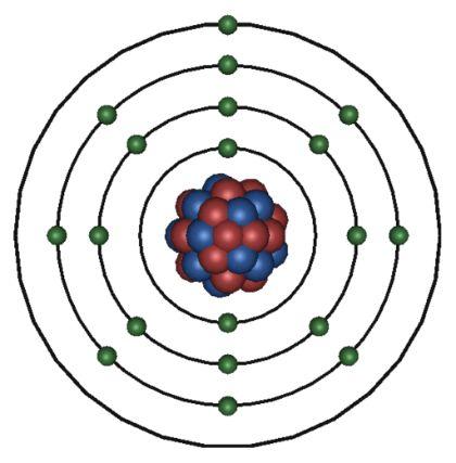 Gallery For > Potassium Atom Model 3d