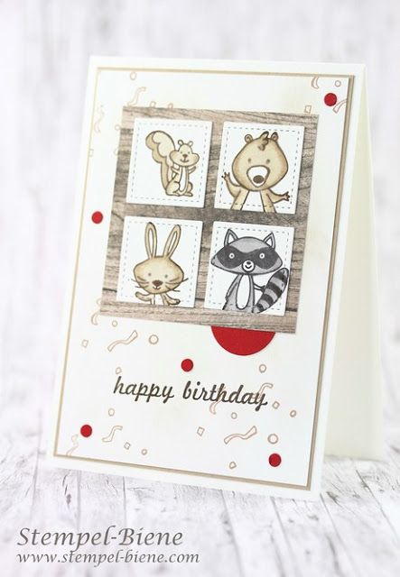 Stampinup We Must Celebrate Matchthesketch Geburtstagskarten