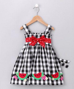 vestido cecilia xadrez preto