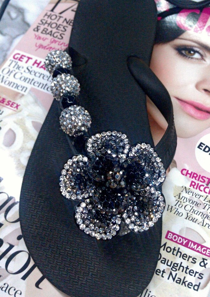 NIGHT BLOOMING ELEGANCE  By Flipinista, Your BFF  Registered Trademark <3