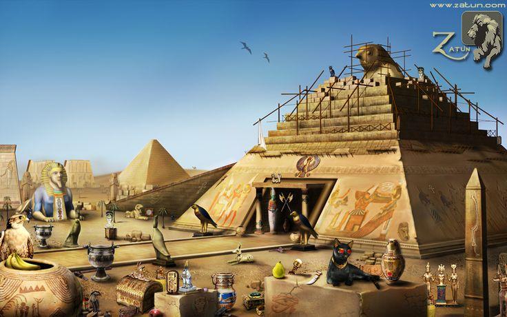 Hidden Object Game Egypt, Game Art