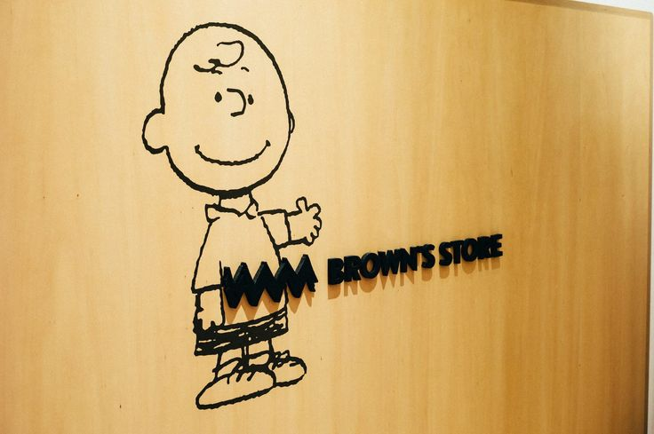 signage | SNOOPY MUSEUM TOKYO