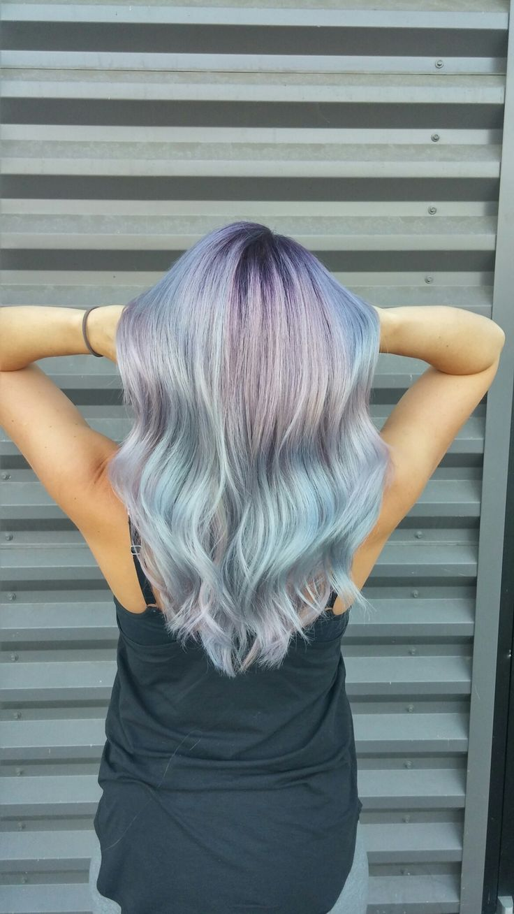Opal unicorn hair