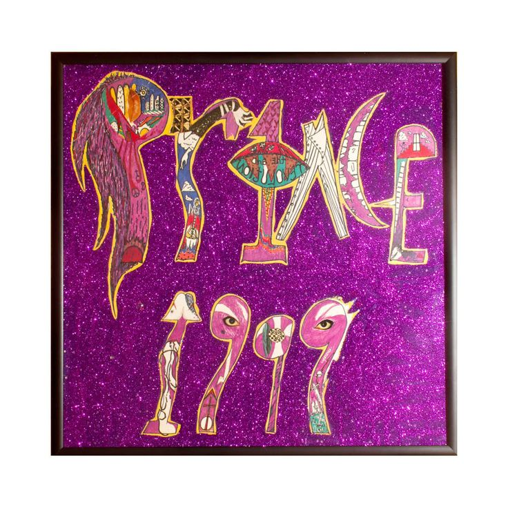Glittered Prince 1999 Album by michel328 on Etsy https://www.etsy.com/listing/101025649/glittered-prince-1999-album