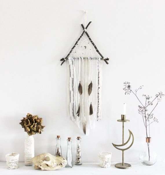 po sie pa enne wall hanging triangle dreamcatcher in. Black Bedroom Furniture Sets. Home Design Ideas