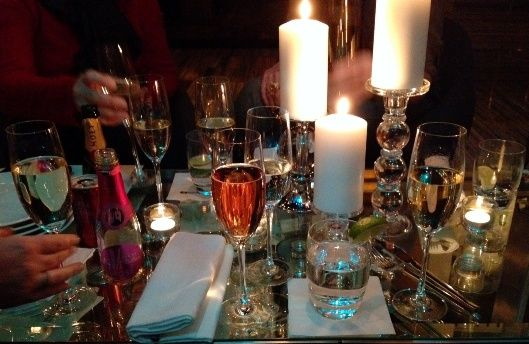 Releve Champagne Bar at the Graves Hotel // Downtown MPLS