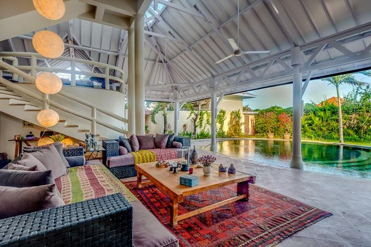 Villa Oberoi en location à Bali - Living