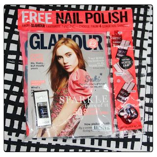 MichelaIsMyName: Free Nails Inc Nail Polish with Glamour UK Decembe...