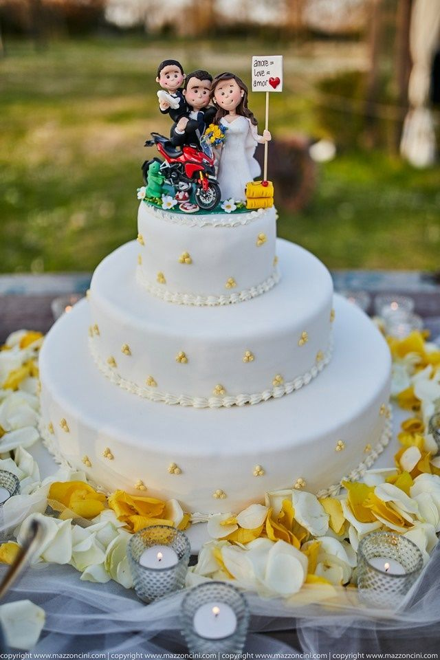 tulle e confetti - #matrimonio in giallo - #weddingcake - #alchimiefloreali - #yellowwedding