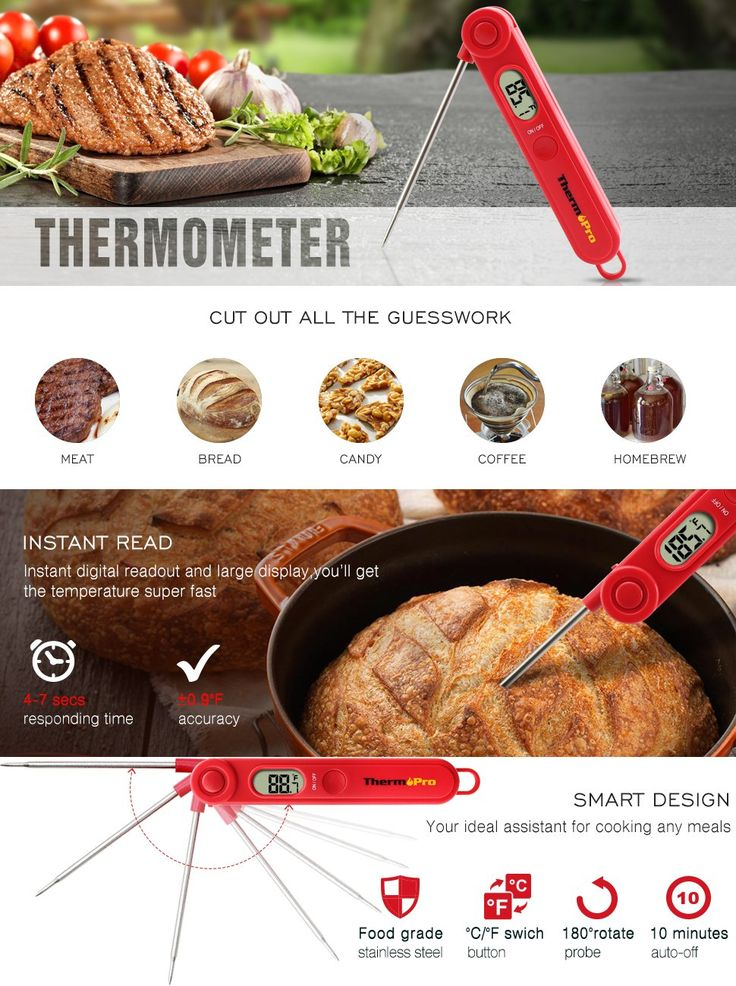 ThermoPro TP03A Digital Food Cooking