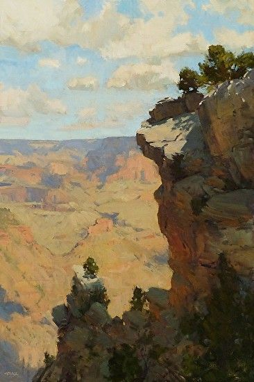 Life on the Edge by Bill Cramer, Oil 36 x 24 (Competition Entry May 2013)