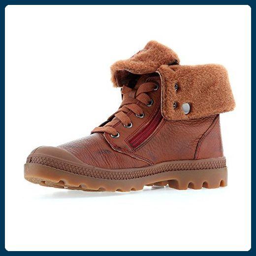 PALLADIUM Schuhe - BAGGY LEATHER S - brown gum rio red, Größe:39 - Stiefel für frauen (*Partner-Link)