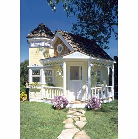 La Petite Maison Cottage Playhouse...every little girls dream!  So cute!