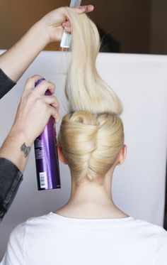 French Twist ~ a step by step guide.                              …