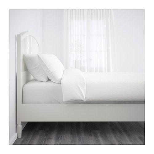TYSSEDAL Structure de lit - Deux places, Luröy sommier à lattes - IKEA