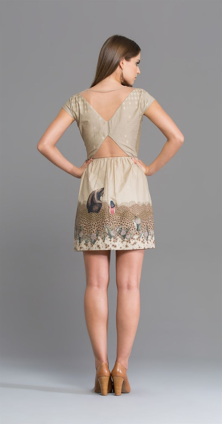 Vestido Menina Urso | O Céu de Celeste | Antix Store