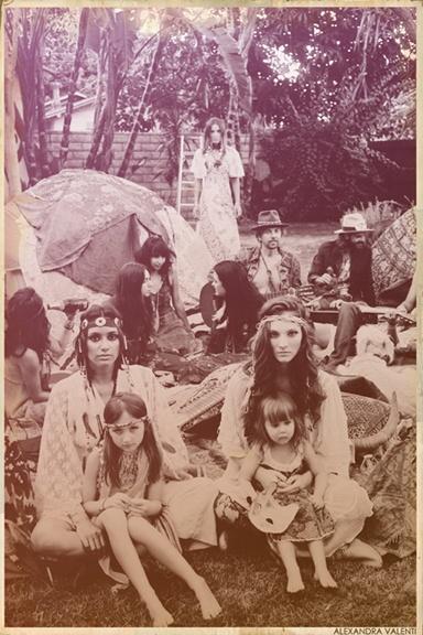 //: Hippie Mom, Hippies, Hippie Style, 60S, Flower Children, Boho, Hippie Life, Free Spirit, Photography