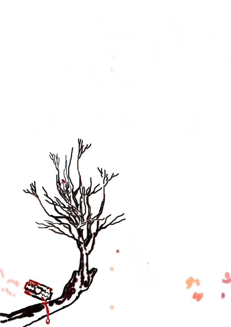 """Bosquejo para """"La lagrima indecisa"""" (The Indecisive Tear) del libro: El Santuario que Arde"""" de Hernán Ergueta #hernanergueta #ilustracion #cuentos"""