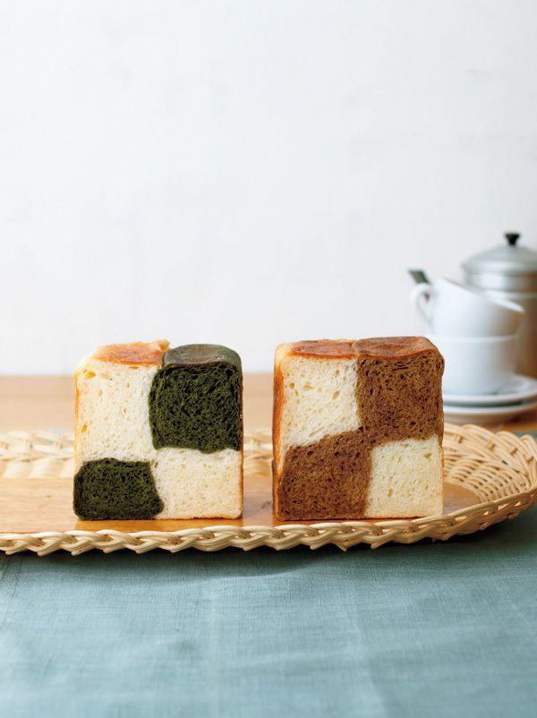 かわいいキューブ型パンを「1分混ぜ」生地で。