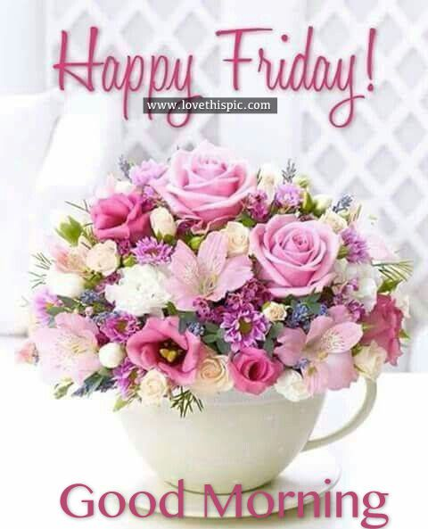 Happy Friday, Good Morning